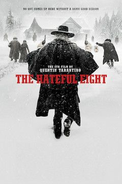 The Hateful Eight movie poster.