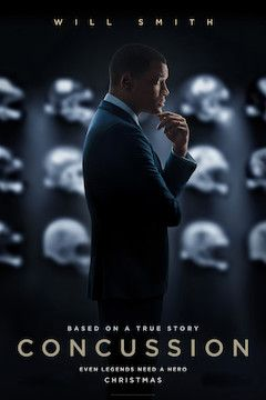 Concussion movie poster.