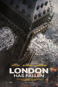 London Has Fallen movie poster.