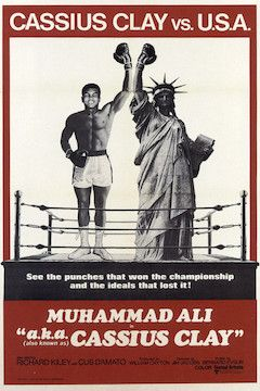A.K.A. Cassius Clay movie poster.