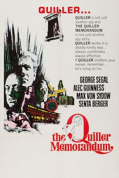 The Quiller Memorandum movie poster.