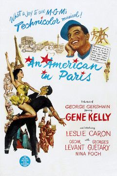 An American in Paris movie poster.