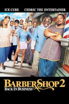 Barbershop 2: Back in Business movie poster.