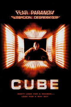 Cube movie poster.