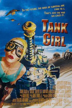 Tank Girl movie poster.
