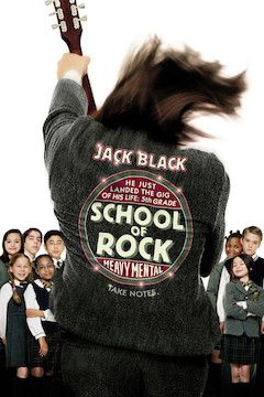 School of Rock movie poster.
