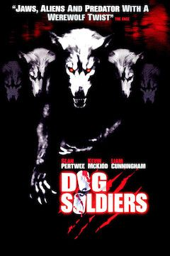 Dog Soldiers movie poster.