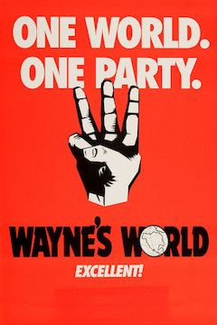 Wayne's World movie poster.