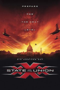 XXX: State of the Union movie poster.