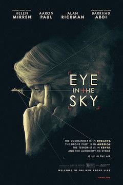 Poster for the movie Eye in the Sky