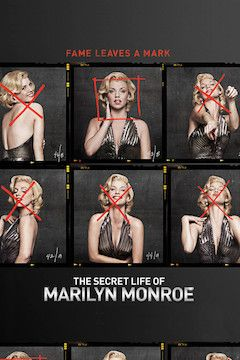 The Secret Life of Marilyn Monroe movie poster.