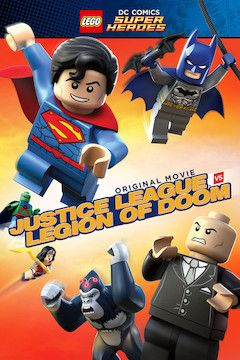 LEGO: Justice League - Attack of the Legion of Doom movie poster.