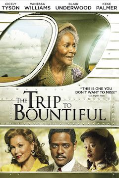 Poster for the movie The Trip to Bountiful