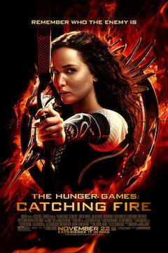The Hunger Games: Catching Fire movie poster.