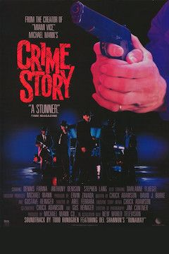 Crime Story movie poster.