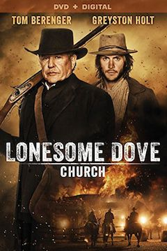 Lonesome Dove Church movie poster.