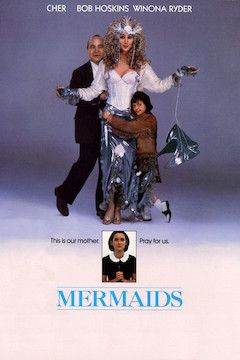 Mermaids movie poster.