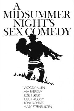 A Midsummer Night's Sex Comedy movie poster.