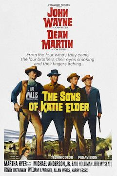 The Sons of Katie Elder movie poster.