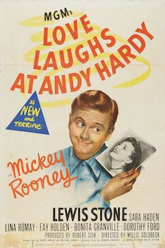 Love Laughs at Andy Hardy movie poster.