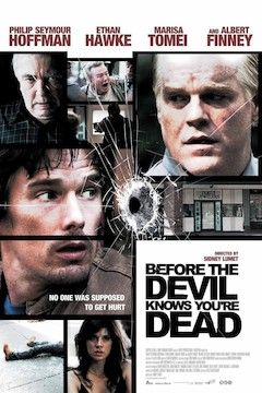 Before the Devil Knows You're Dead movie poster.