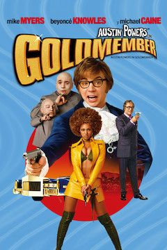 Austin Powers in Goldmember movie poster.