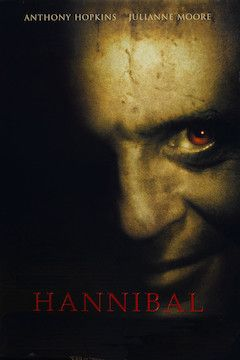 Hannibal movie poster.