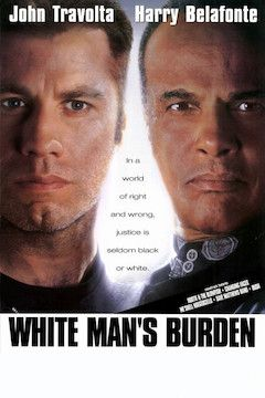 White Man's Burden movie poster.