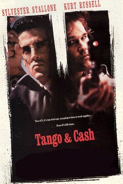 Tango and Cash movie poster.