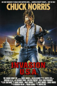 Invasion U.S.A. movie poster.