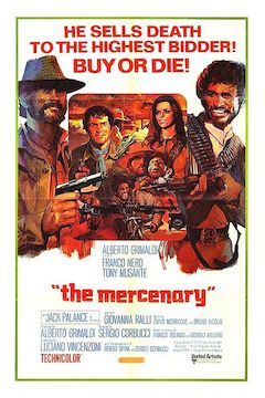 Poster for the movie The Mercenary