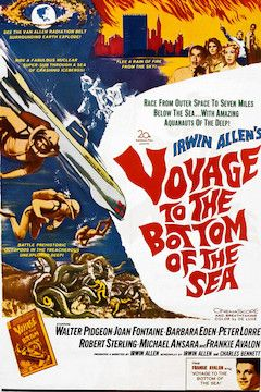 Voyage to the Bottom of the Sea movie poster.