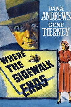 Where the Sidewalk Ends movie poster.