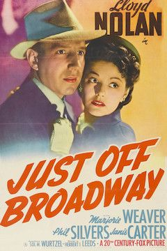 Just Off Broadway movie poster.