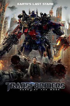 Transformers: Dark of the Moon movie poster.