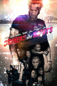 Sinners and Saints movie poster.