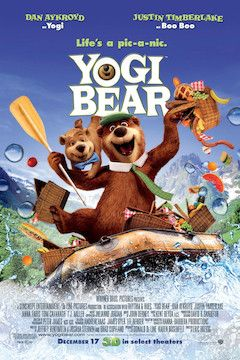 Yogi Bear movie poster.