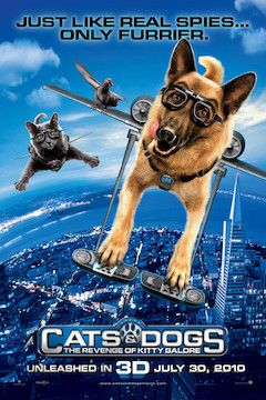 Cats and Dogs: The Revenge of Kitty Galore movie poster.