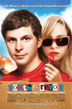 Youth in Revolt movie poster.