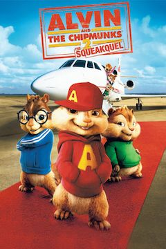Alvin and the Chipmunks: The Squeakquel movie poster.