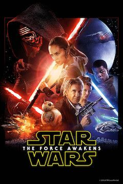 Poster for the movie Star Wars: The Force Awakens