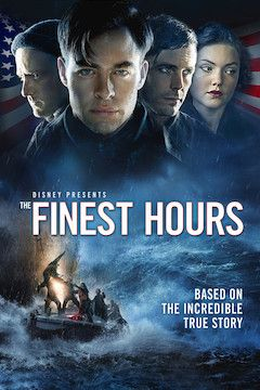 The Finest Hours movie poster.