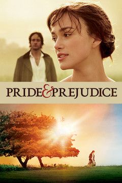 Pride and Prejudice movie poster.