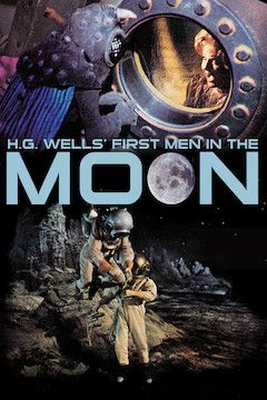 First Men in the Moon movie poster.