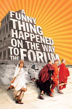 A Funny Thing Happened on the Way to the Forum movie poster.