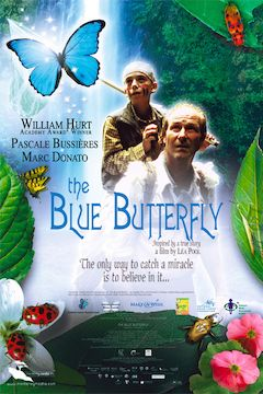 The Blue Butterfly movie poster.