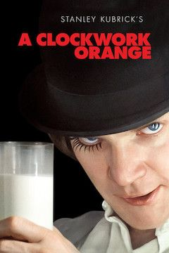 A Clockwork Orange movie poster.