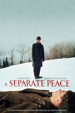 A Separate Peace movie poster.