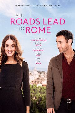 All Roads Lead to Rome movie poster.
