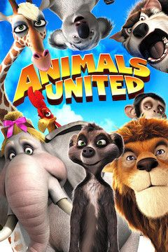 Animals United movie poster.